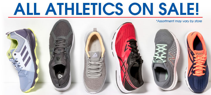 All Athletic Shoes on Sale!