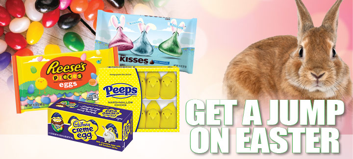 Get a Jump on Easter Candy!