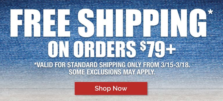 Free Shipping on Orders $79+
