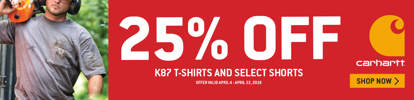 25% Off K87 Shirts and Select Shorts
