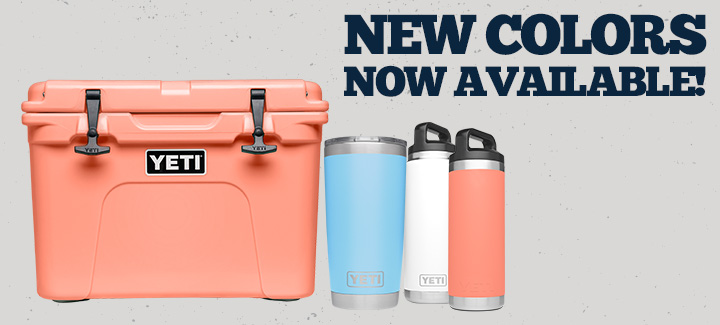 New YETI® Colors!