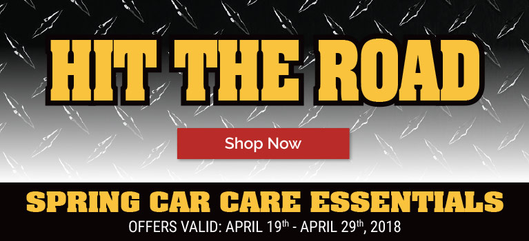 Hit the Road and Save with Spring Car Care Essentials!