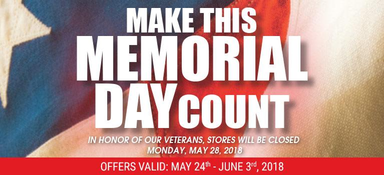 Make This Memorial Day Count
