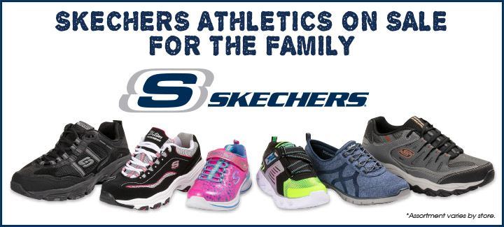Skechers Athletics on Sale for the Family