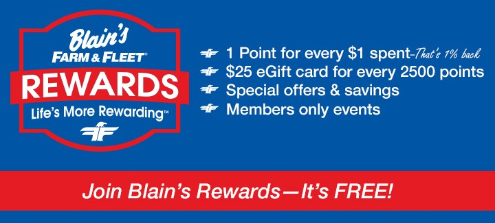 Join Blain's Rewards
