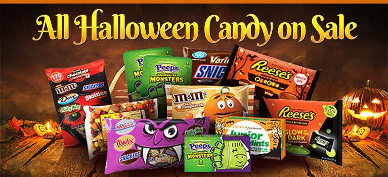 All Halloween Candy on Sale