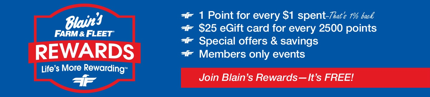 Blain's Farm & Fleet | Great Brands, Great Value