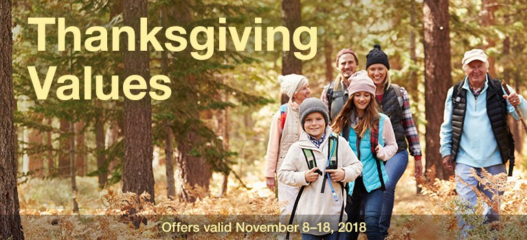 Thanksgiving Values