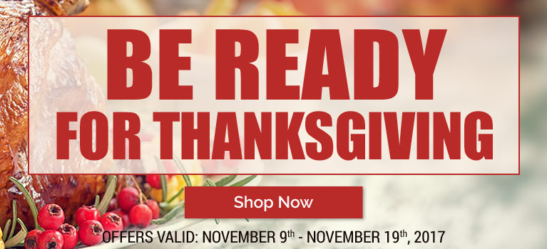 Be ready for Thanksgiving with a little help from Blain's Farm & Fleet!