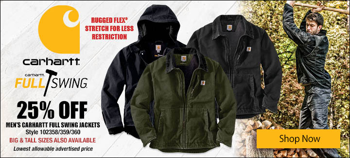 Carhartt Full Swing Jackets