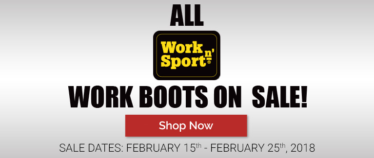 All Work N' Sport Boots on Sale