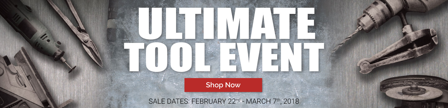 Shop the Ultimate Tool Event