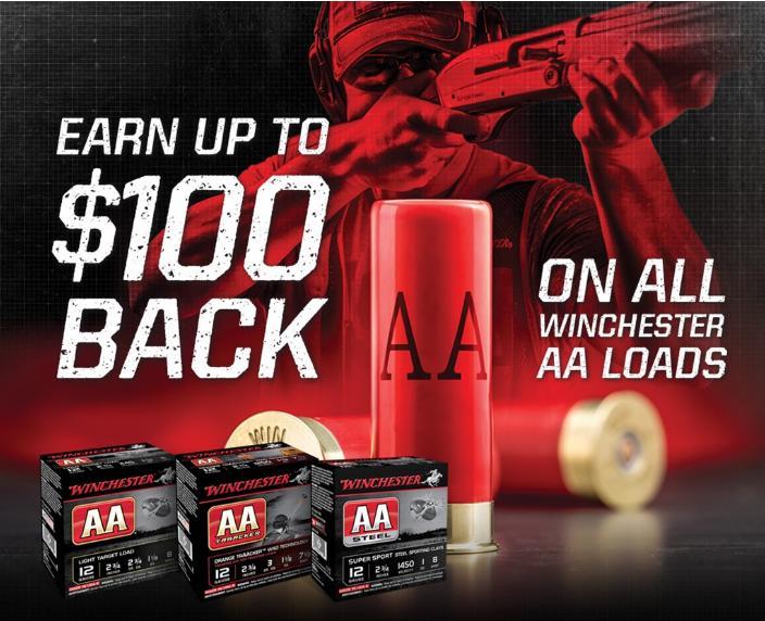 Winchester Slugs & Buckshot $10 Back