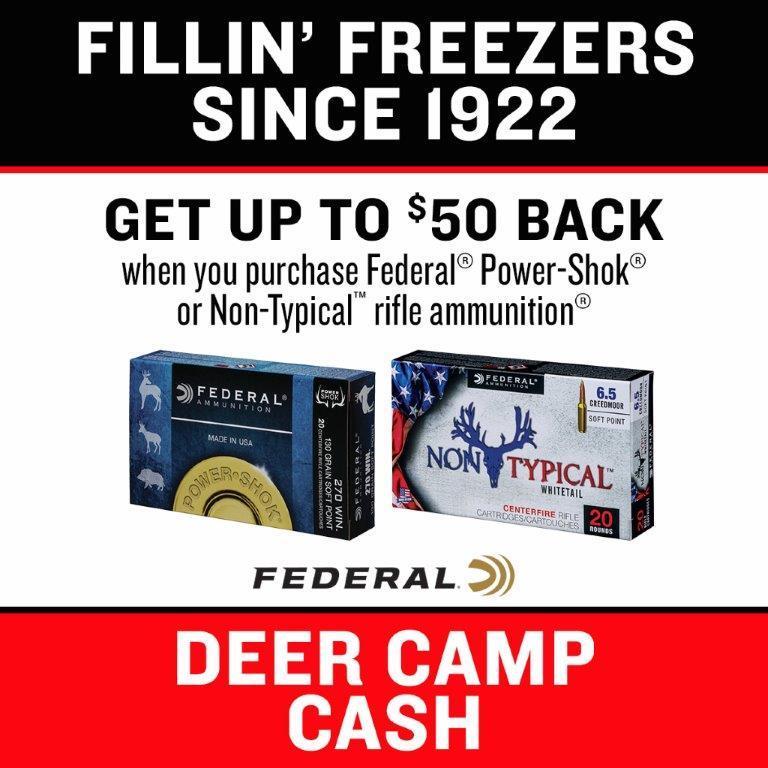 Deer Camp cash Ferderal $50  Back