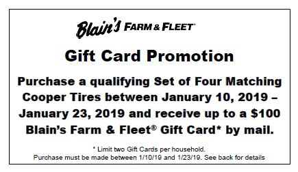 Online Rebates Blain S Farm Fleet