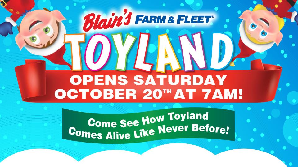 Blain's Farm & Fleet Toyland 2018