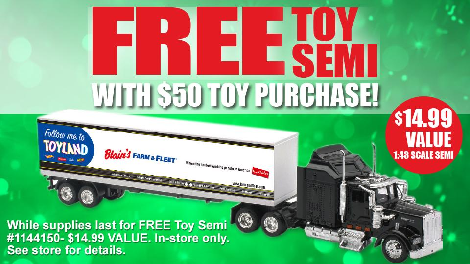 Blain's Farm & Fleet Special In-Store Offer