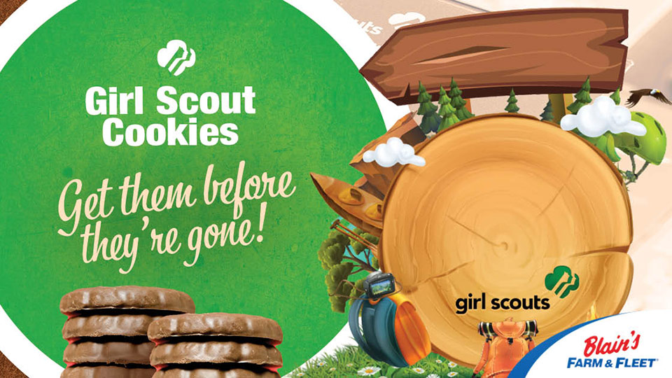 Blain's Farm & Fleet Moline Teams up with Local Girl Scout Troops