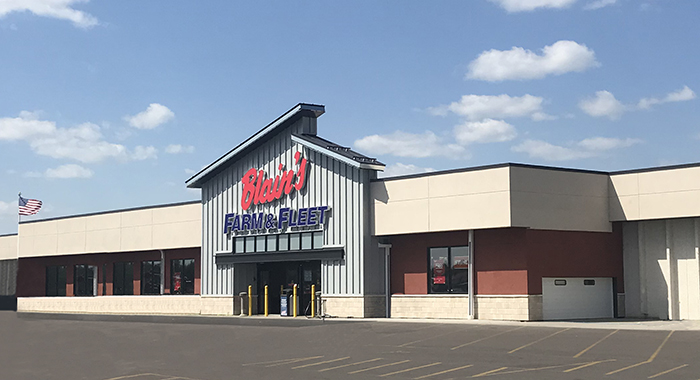Blain's Farm & Fleet of Rice Lake, Wisconsin