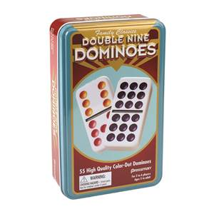 Domino Sets and Tile Games